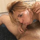 Blond latin beauty with natural tits.