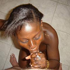 Ebony dilettante.